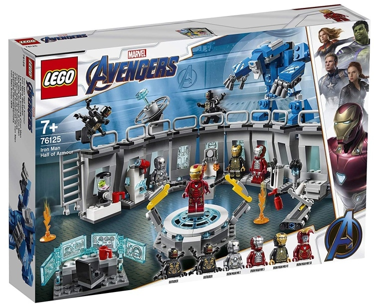LEGO Marvel Super Heroes Avengers- Endgame Iron Man Hall of Armour (76125)