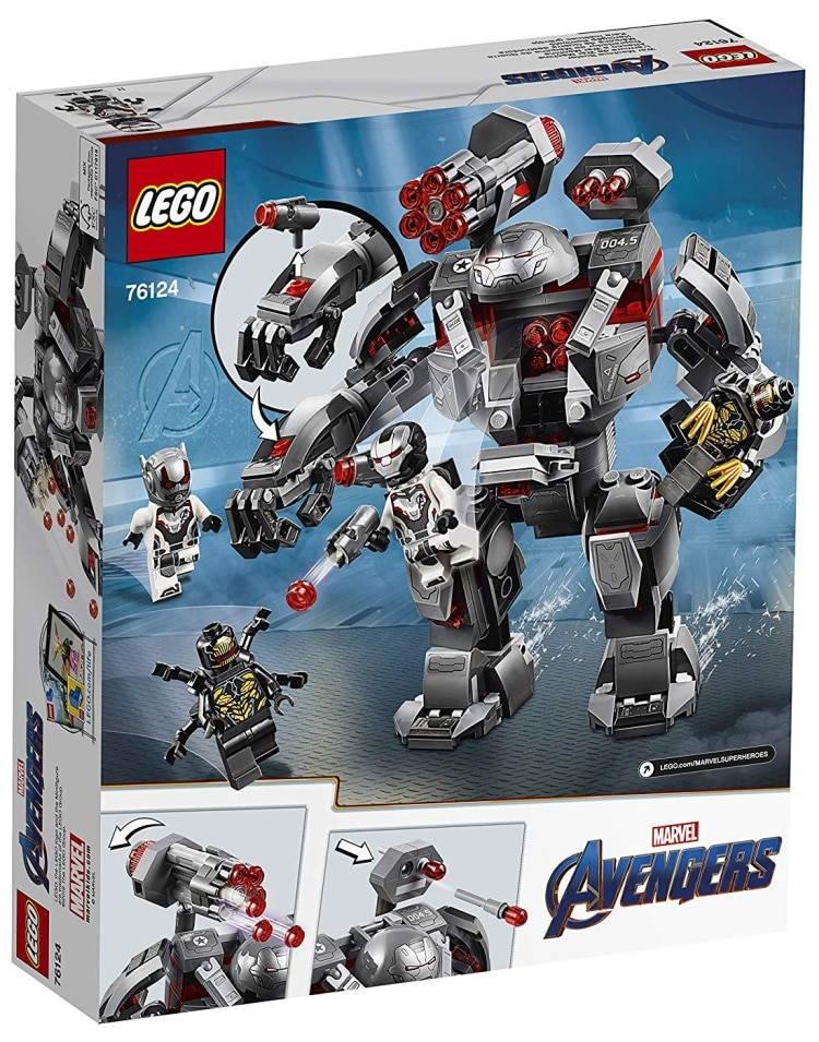 LEGO Marvel Super Heroes Avengers- Endgame War Machine Buster (76124)