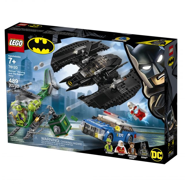 LEGO Batman Batwing and The Riddler Heist (76120)