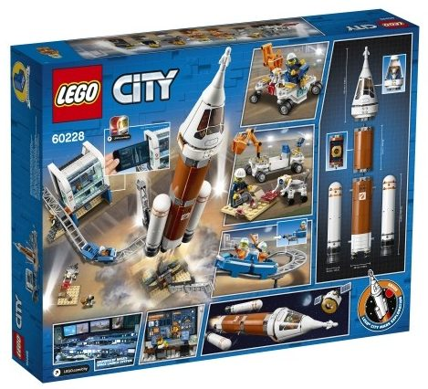 LEGO City Space Research Rocket Control Center (60228)
