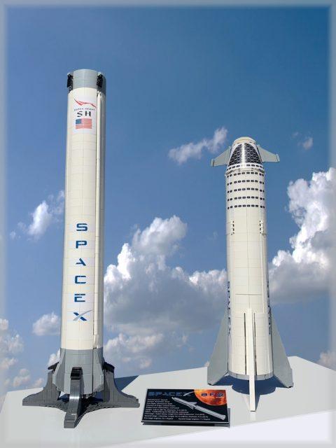 LEGO Ideas SpaceX BFR Starship & Super Heavy