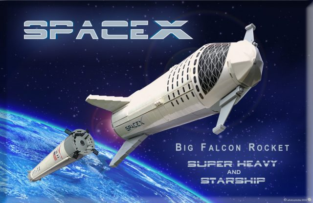 LEGO Ideas SpaceX BFR Starship & Super Heavy