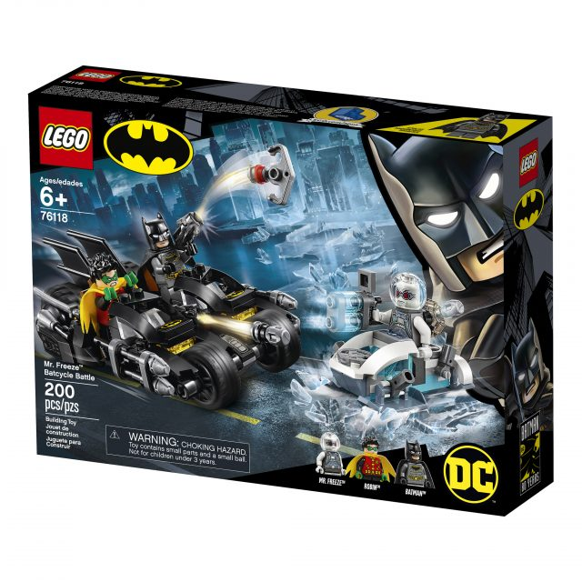 Mr. Freeze Batcycle Battle (76118)