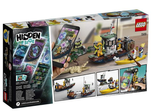 LEGO Hidden Side Boat (70419)