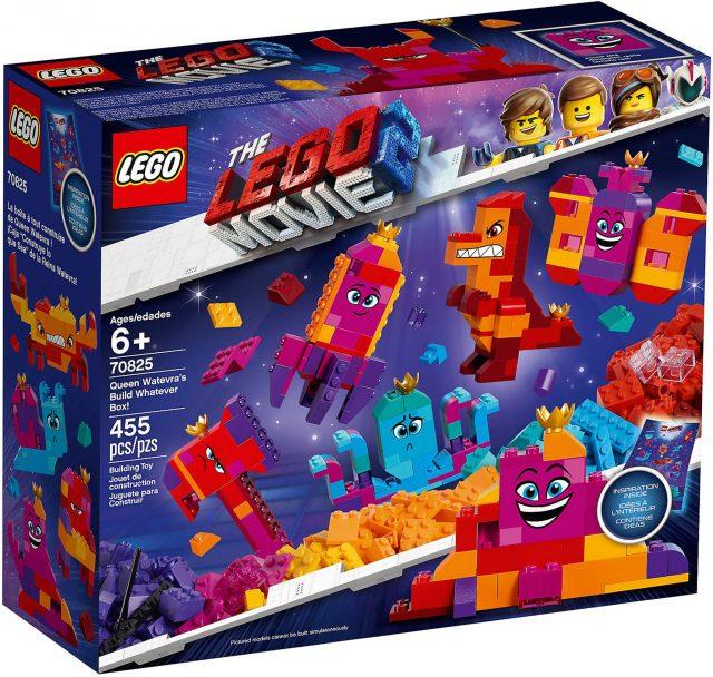 """LEGO Movie 70825 - La Scatola """"Costruisci Quello Che Vuoi"""" Della Regina"""