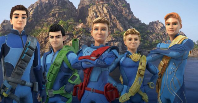 La serie Thunderbirds Are Go del 2015