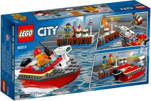 LEGO City 60213 - Incendio Al Porto