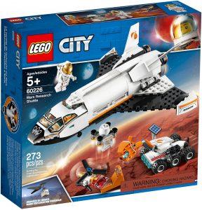 LEGO City 60226 - Shuttle di Ricerca su Marte
