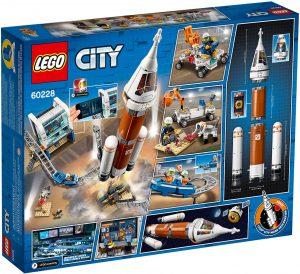 LEGO City 60228 - Razzo Spaziale e Centro Di Controllo