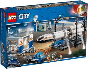 LEGO City 60229 - Assemblaggio e Trasporto Del Razzo