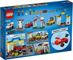 LEGO City 60232 - Stazione di Servizio e Officina