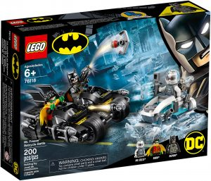 LEGO DC Super Heroes 76118 - Battaglia Sul Bat Ciclo Con Mr Freeze