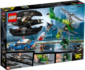 LEGO DC Super Heroes 76120 - Bat Aereo di Batman e La Rapina Dell'Enigmista