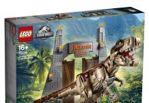 LEGO Jurassic Park 75936 - T.Rex Rampage