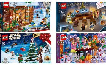 Calendari dell'Avvento 2019 LEGO