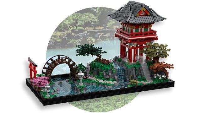 LEGO Ideas: Japanese Tea Garden