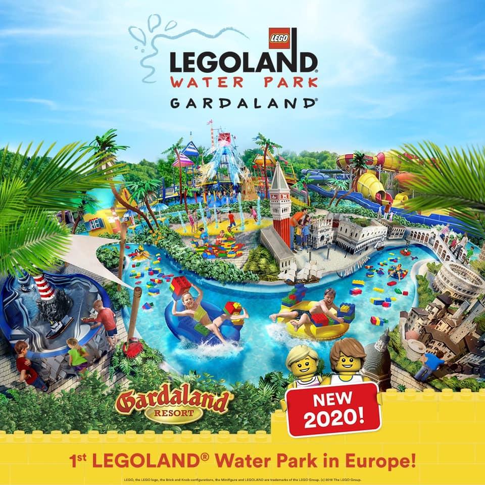 Gardaland Calendario 2020.Aprira A Gardaland Il Primo Legoland Water Park D Europa