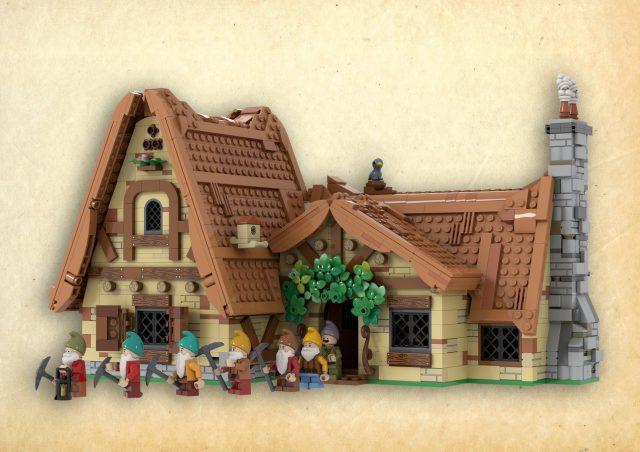 LEGO Ideas The Seven Dwarfs House