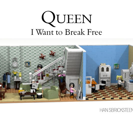 LEGO Ideas Queen I Want to Break Free