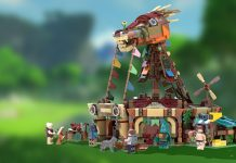 LEGO Ideas The Legend of Zelda BotW Stables