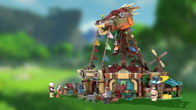 LEGO Ideas The Legend of Zelda BotW Stables