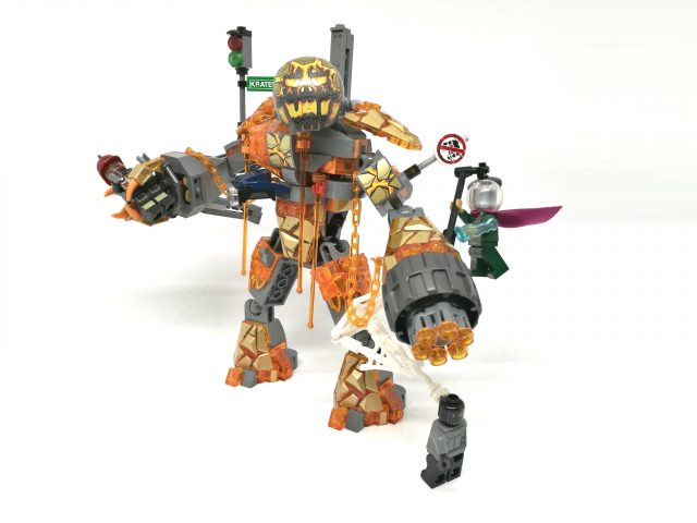 LEGO Marvel Super Heroes 76128 - La Battaglia di Molten