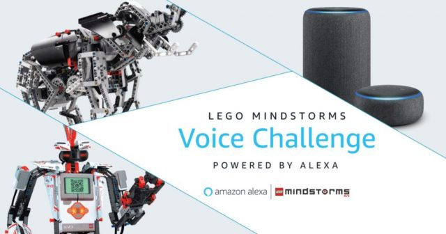 LEGO Mindstorms and Amazon Alexa Voice Challenge
