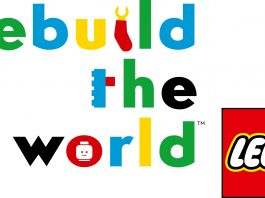 LEGO Rebuild The World Logo