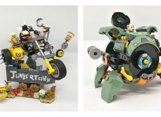 Recensione LEGO Overwatch Junkrat e Roadhog (75977) & Wrecking Ball (75976)