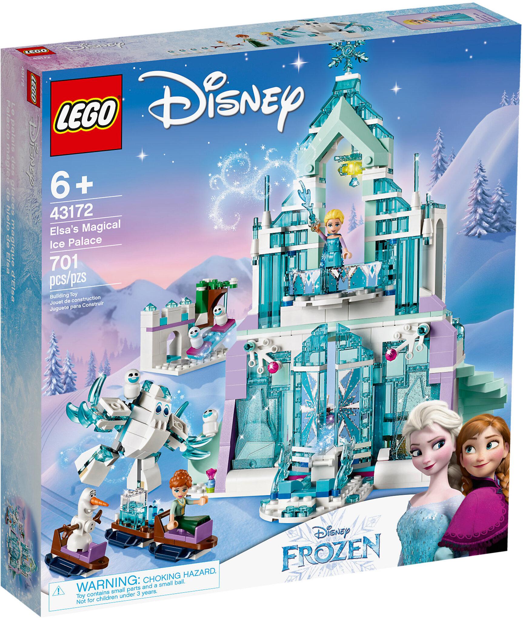 Il magico castello di Ghiaccio di Elsa (43172)