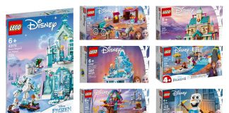 Disponibili i set LEGO Disney Frozen 2