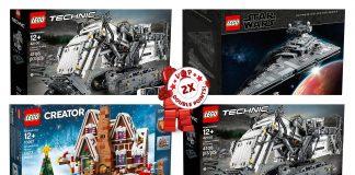 Doppi Punti LEGO VIP sul LEGO Shop dal 14 al 27 Ottobre