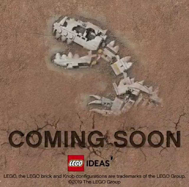 LEGO Ideas Dinosaurs Fossils Skeletons teaser