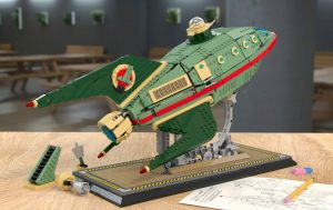 LEGO Ideas Planet Express Delivery Ship