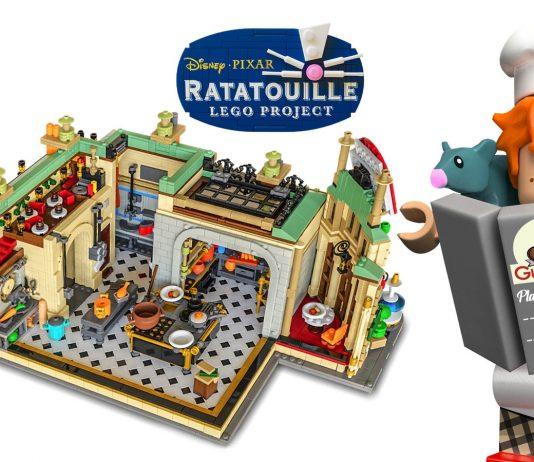 LEGO Ideas Ratatouille Open The Doors