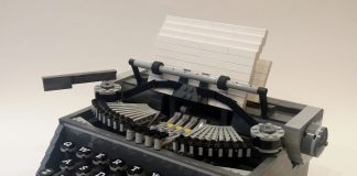 LEGO Ideas Typewriter