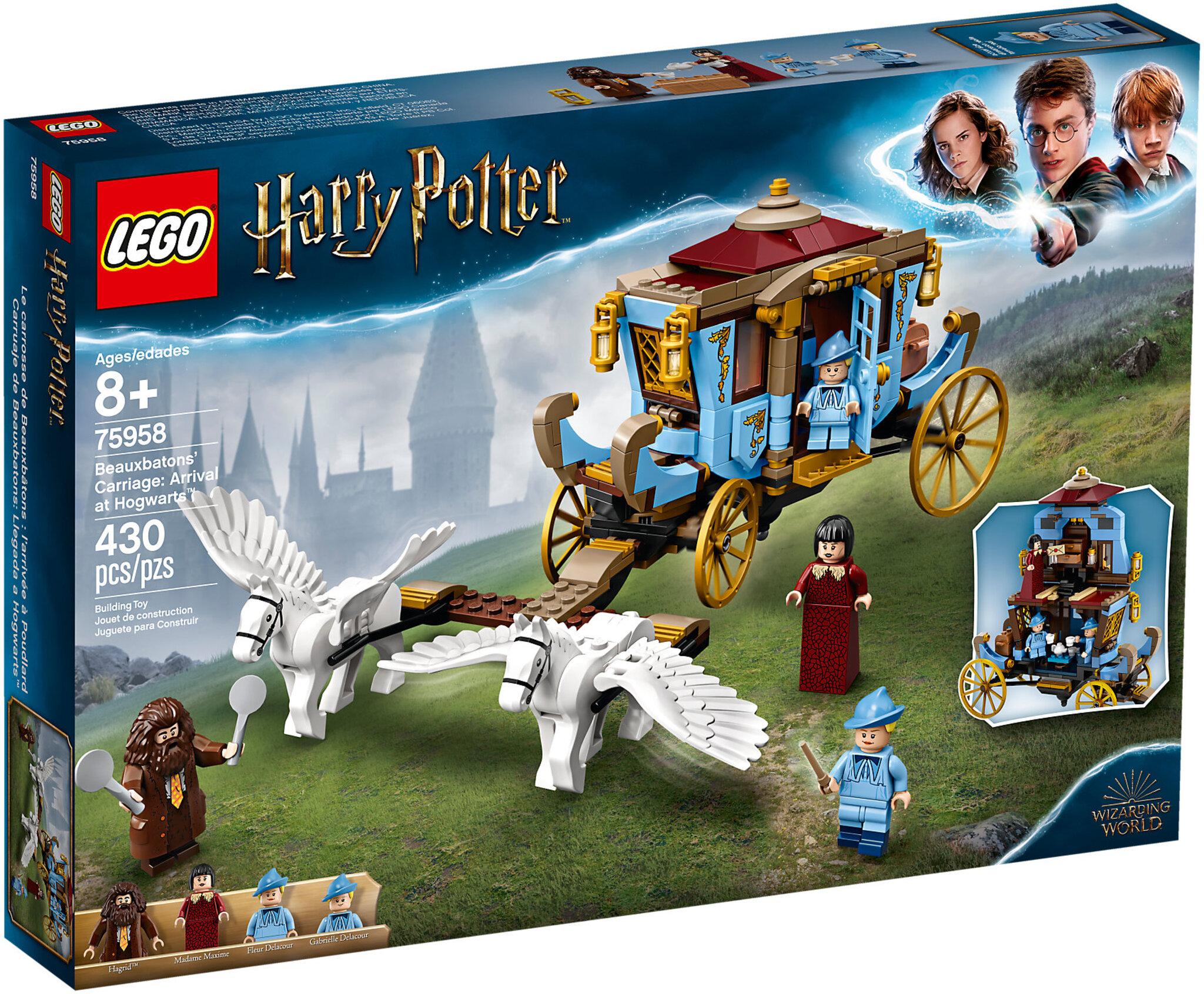 La Carrozza di Beauxbatons- arrivo a Hogwarts (75958)