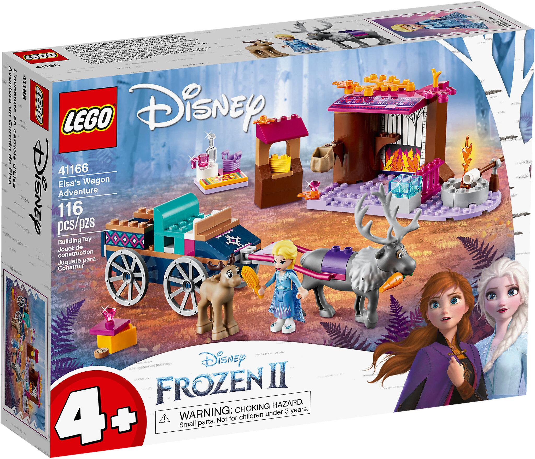 L'avventura sul carro di Elsa (41166)