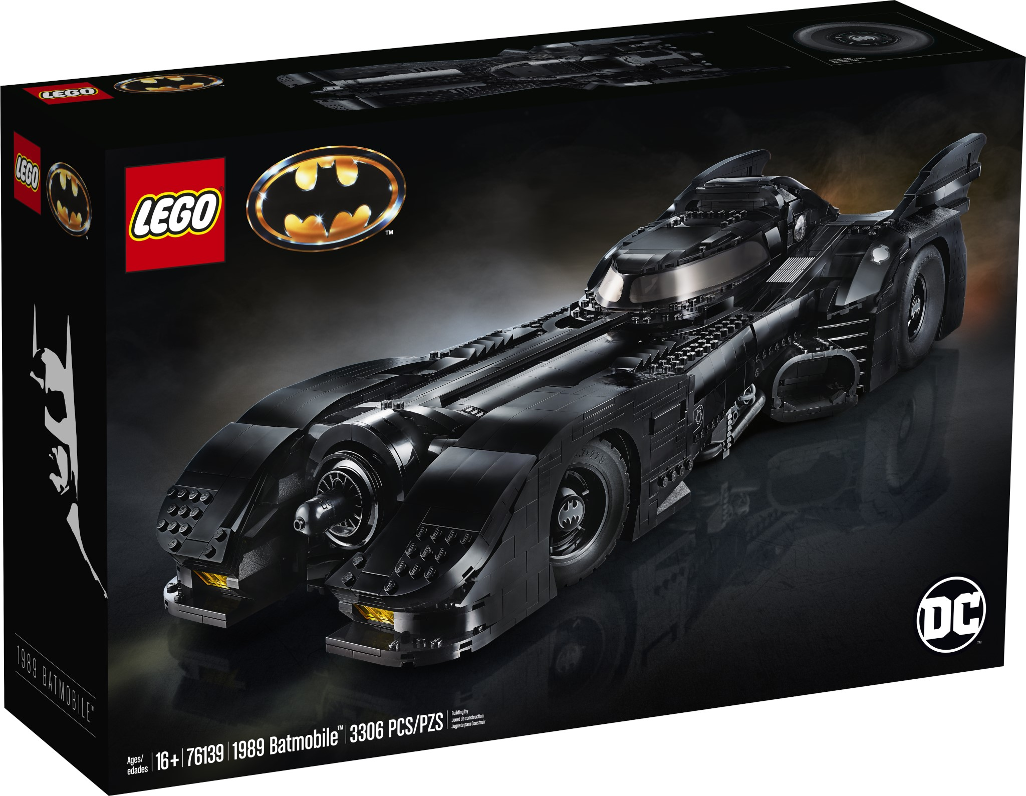 LEGO Batman 1989 Batmobile (76139)