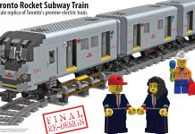 LEGO Ideas Toronto Rocket Subway Train