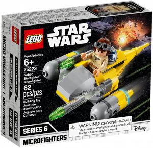 LEGO Star Wars 75223 - Microfighter Naboo Starfighter
