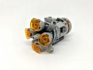LEGO Star Wars 75228 - Microfighter Capsula di salvataggio contro Dewback