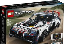 LEGO TECHNIC Top Gear Rally Car (42109)
