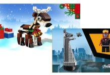La Torre degli Avengers e una Renna in Omaggio Sul LEGO Shop