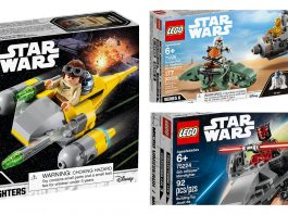 Recensione LEGO Star Wars Microfighters Serie 6