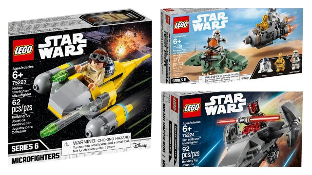 Recensione LEGO Star Wars Microfighters Serie 6