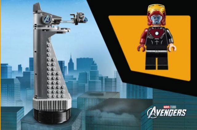 Torre Avengers LEGO omaggio 2019
