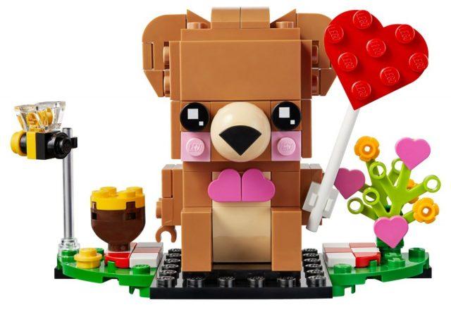 LEGO BrickHeadz Valentine Bear (40379)