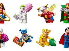 LEGO DC Comics Collectible Minifigures (71026) banner