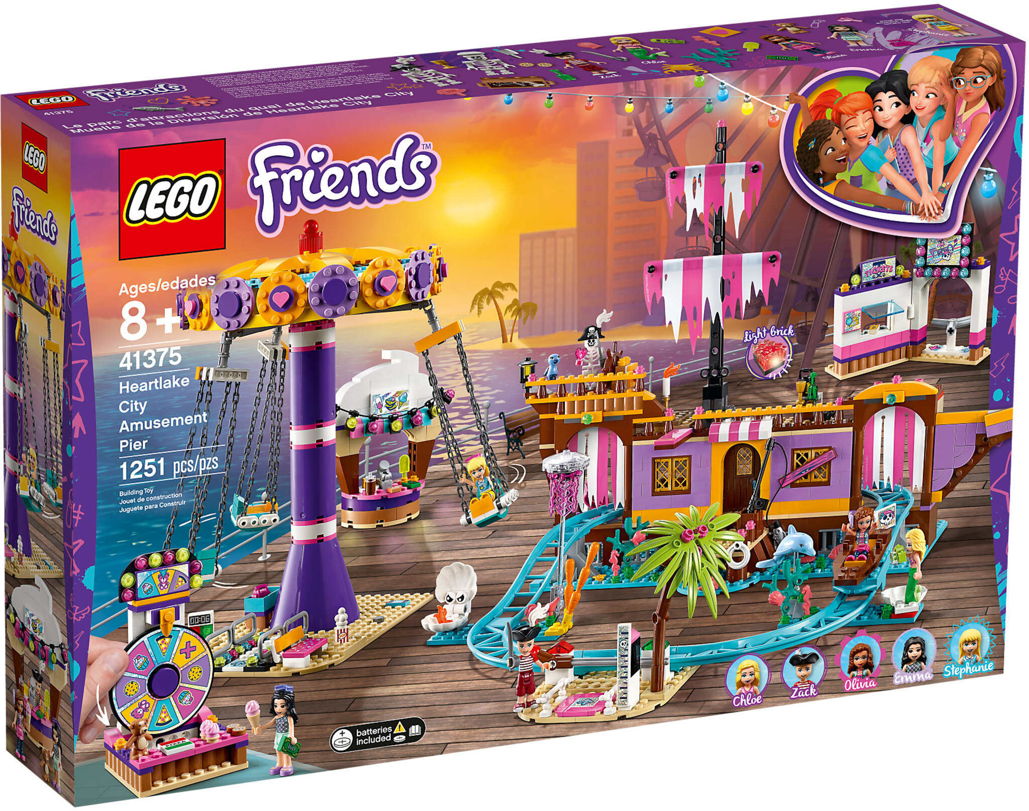 LEGO Friends 41375 - Il Molo dei Divertimenti di Heartlake City
